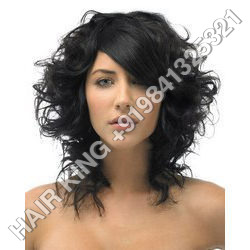 Natural Black Human Hair Wigs