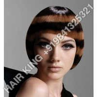 Colour Human Hair Wigs