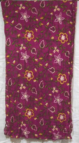 Cotton Flower Printed Scarves