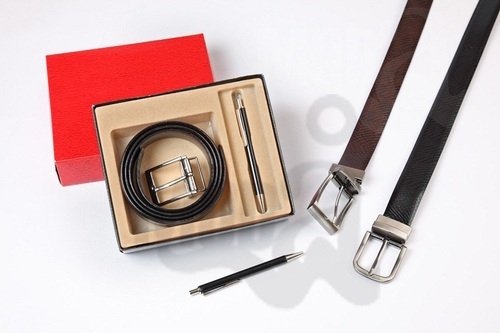 Leather Gift Set