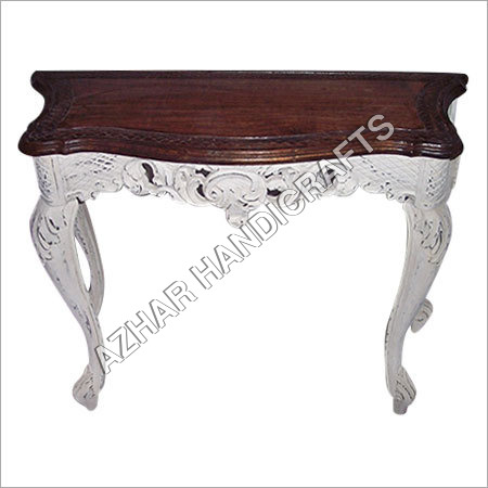 Wooden Handicraft Small Table Azhar Handicrafts Indira Chowk