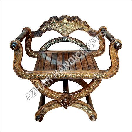 Wooden Handicraft Chair Wooden Handicraft Chair Exporter