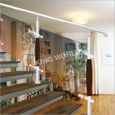 Stair Railing With Glass