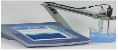 TABLE TOP BENCH PH METER PREMIUM MODEL  -CYBERSCAN PH 6000
