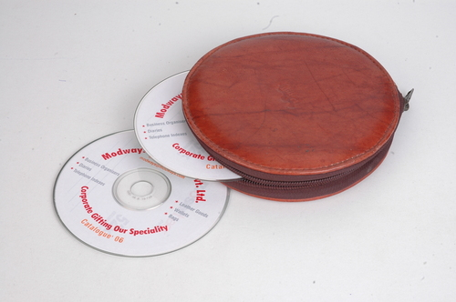 CD Case In Leather