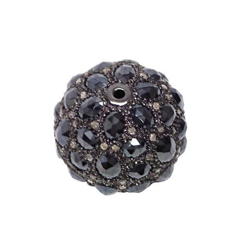 Black Spinel Diamond Fashionable Finding