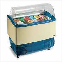 Samoa Ice Cream Scooping Freezer