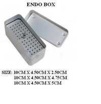 METAL STEEL ENDO BOX