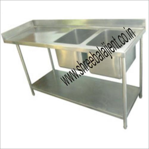 Two Sink Unit with Table
