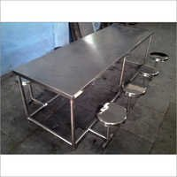 S.S. Dining Table 8 Seater