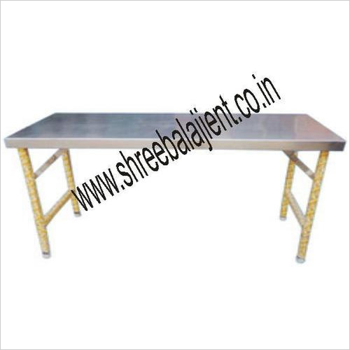 S.S. Dining Table Folding