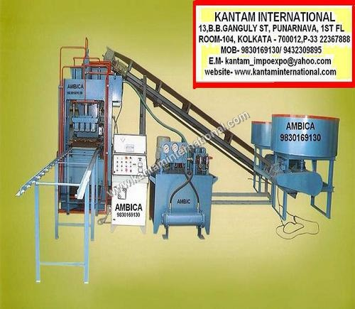 Fly Ash Brick Making Machinery