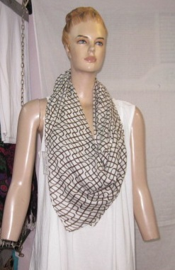 Polyester Printed Fancy Stole