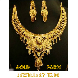 Gold Formed Jewellery