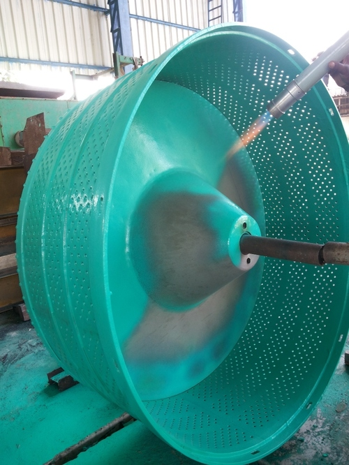 Rubber Coated Centrifuge