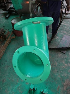 Thermoplastic Powder Coated Pipings
