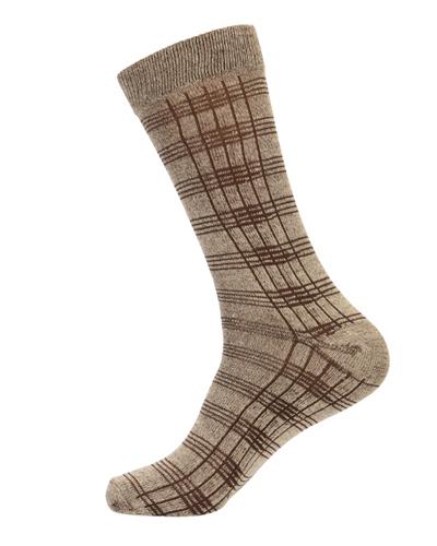 Calf Length Square Designed Casual Socks
