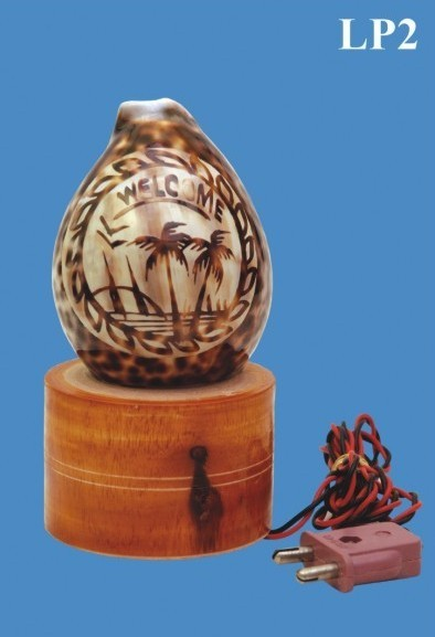 Cowdy Shell Lamp