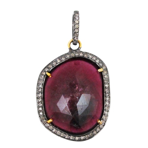 Diamond Ruby Gemstone Jewelry
