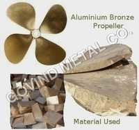 Aluminum Bronze Bright Propellers