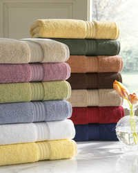 Bath towel shelves