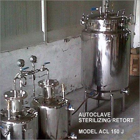 Autoclave Retort Sterilizer