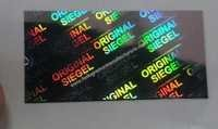 ORIGINAL SEIGEL HOLOGRAM