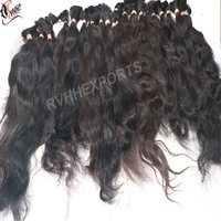 Natural Color Virgin Bulk  Hair