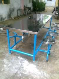 Steel Dining Table