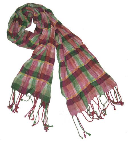Crinkal Cotton Printed Fancy Shawl