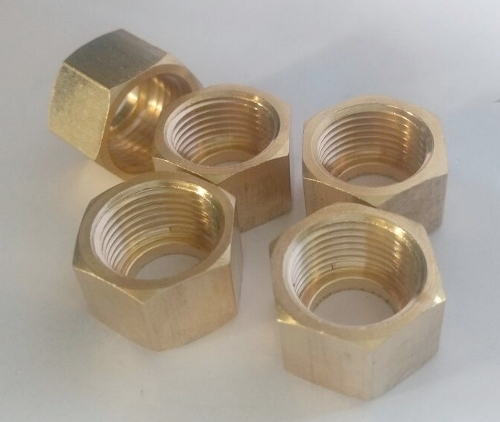 Brass LPG Hex Nut India