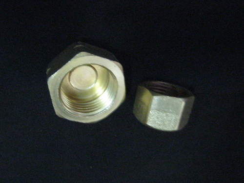 Brass Stop End Nuts