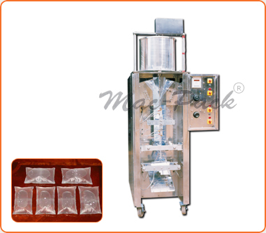 Single Head High Speed Mineral Water Pouch Packing