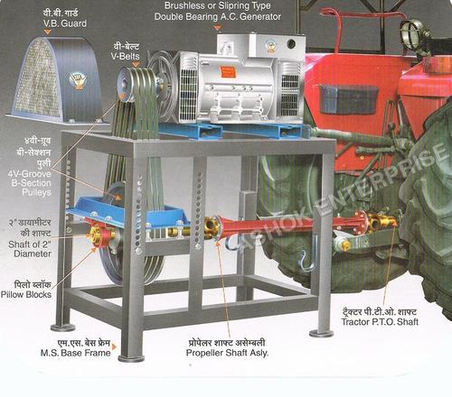 Tractor Driven Generator Set