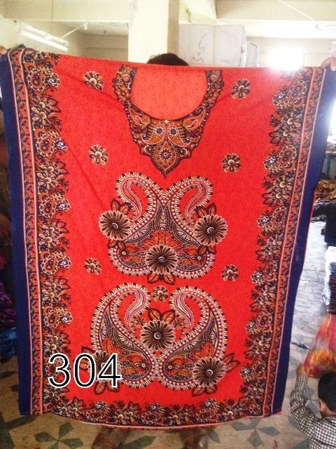 Printed Ladies Kaftan