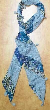 Cotton Fancy Long Scarves