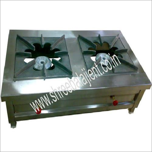 2 Burner Bulk Cooking Gas Range (Low Height)