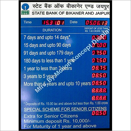 Bank Interest Rate