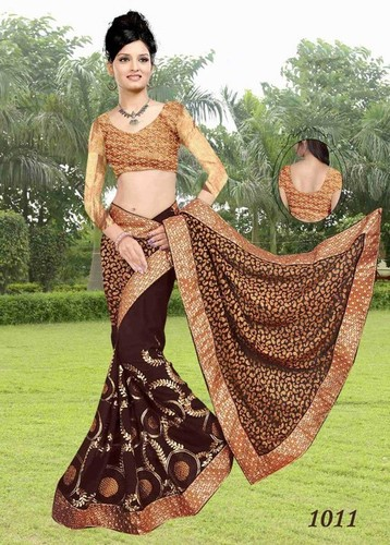Glittering and sparkling sarees