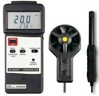 Anemometer With Humidity Meter
