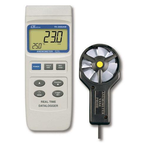 Anemometer Real Time Data Logger