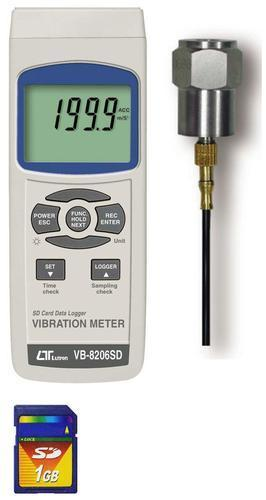 Vibration Meter Data Logger