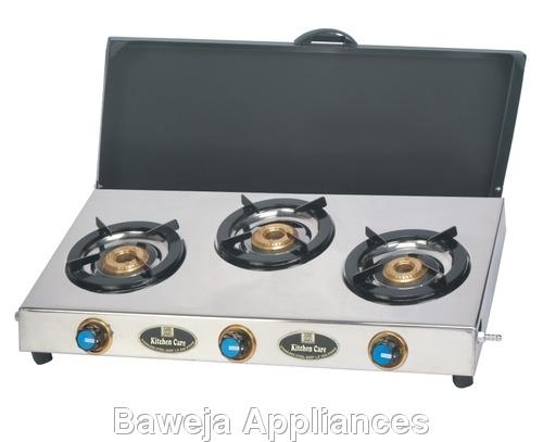 Triple Burner Gas Stoves