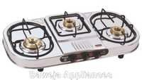 Three Burner Cooking Gas Stoves