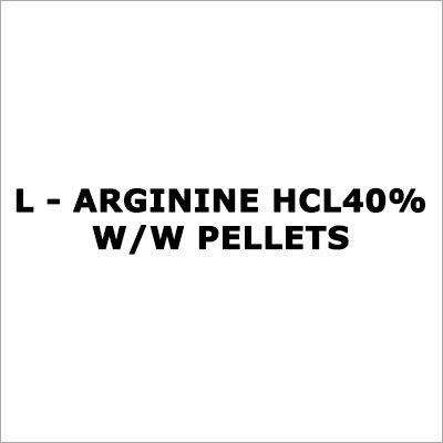 L - Arginine Hcl 40% W-W Pellets