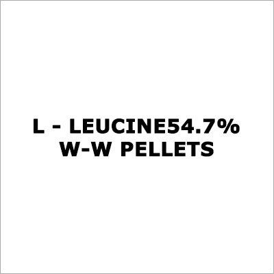 L - Leucine 54.7% W-W Pellets