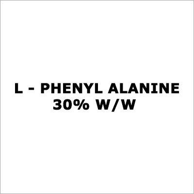 L - Phenylalanine 30% W-W