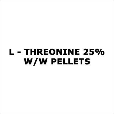 L - Threonine 25% W-W Pellets