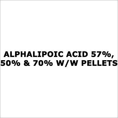 Alphalipoic Acid 57%, 50% & 70% W-W Pellets