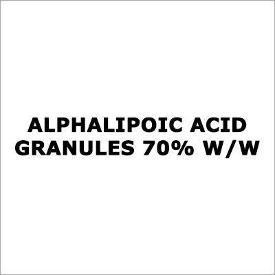 Alphalipoic Acid Granules 70% W-W
